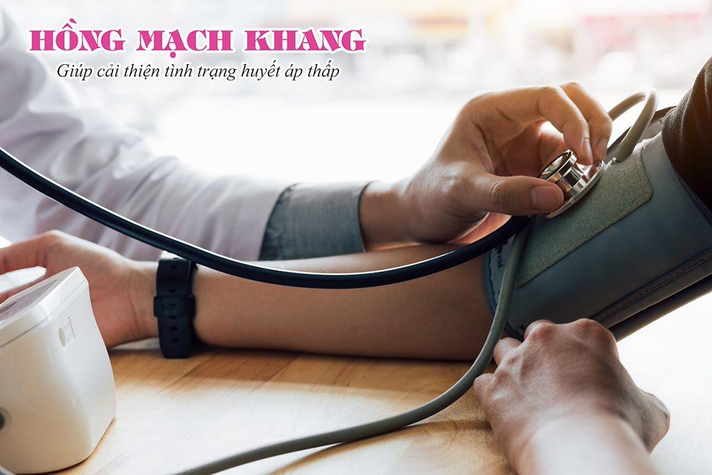 Huyết áp thấp là khi chỉ số thấp hơn hoặc bằng 90/60 mmHg